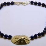 Collier aus Lapis Lazuli und 925 Sterlingsilber