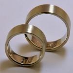 Ringe aus 585 Weißgold